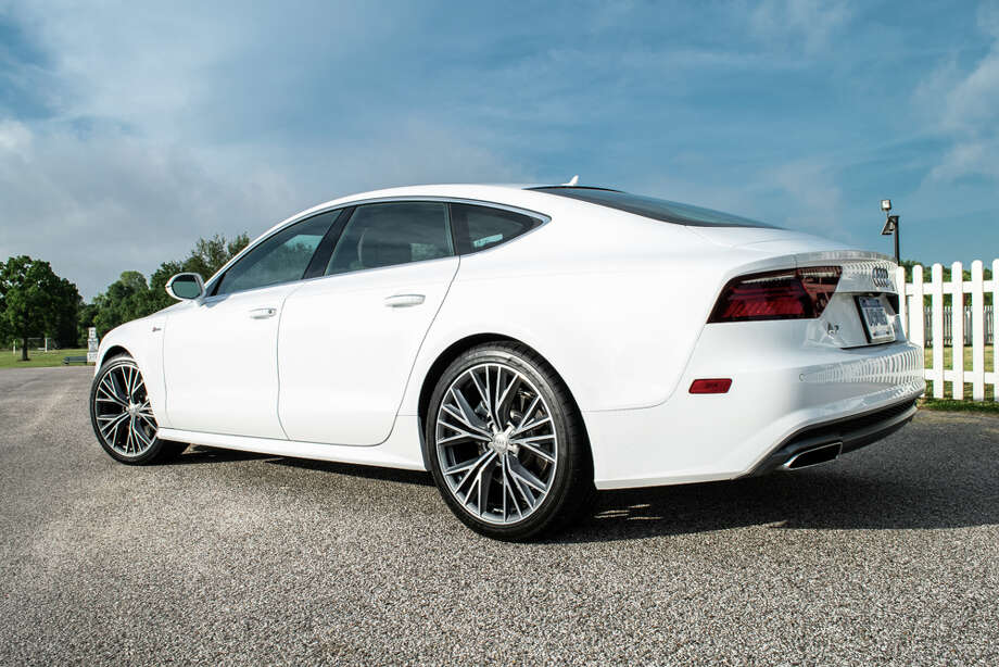"""The 2016 Audi A7's elegantly styled exterior is a sight for sore eyes on the Houston highways full of pickups and SUVs. Its graceful curves are simply designing perfection juxtapose to the city's rigid landscape. Photo: Mike """"The Truth"""" Jackson Photography / ©2015 MikeTheTruth.com. All rights reserved."""