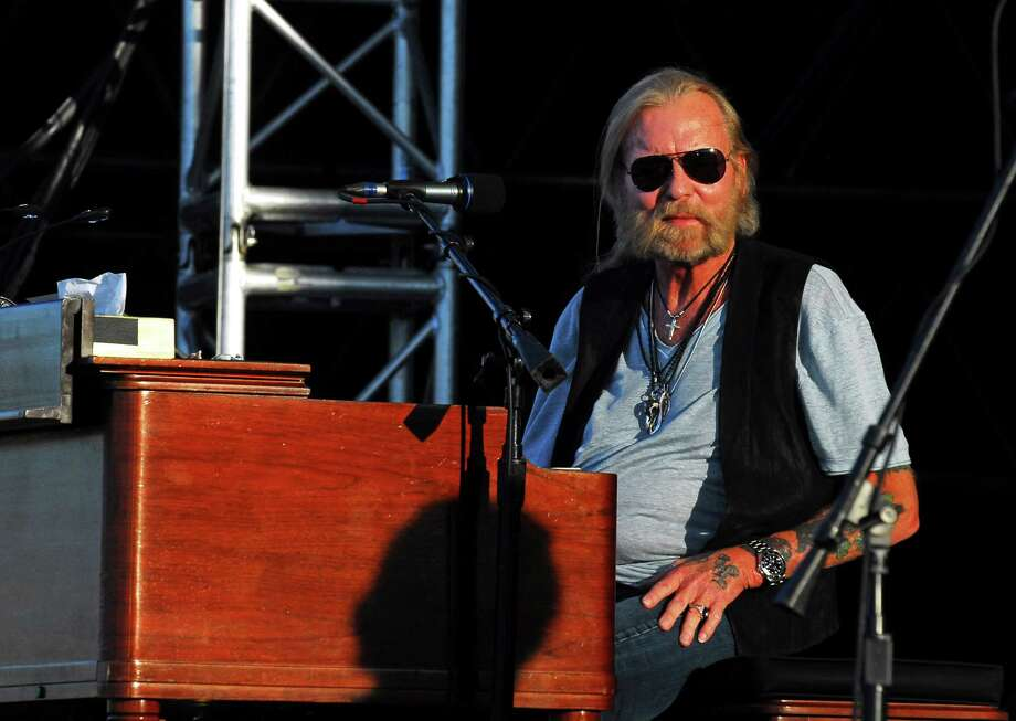 Gregg Allman performs during the 20th Annual Gathering of the Vibes at Seaside Park in Bridgeport, Conn., on Friday July 31, 2015. Photo: Christian Abraham, Hearst Connecticut Media / Connecticut Post/Contributed Photo