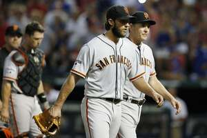 Emotional Madison Bumgarner, Giants fall to Rangers - Photo