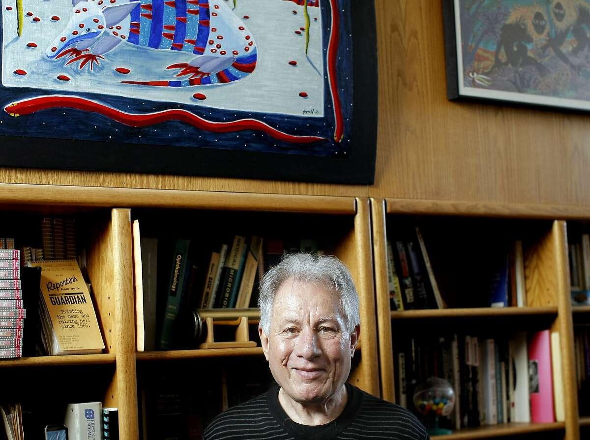 FILE-- Dr. Eugene Schoenfeld, the man behind the popular sex and drug column,