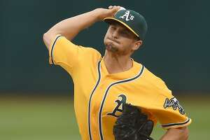 Cleveland spoils Kendall Graveman's outing, edges A's - Photo