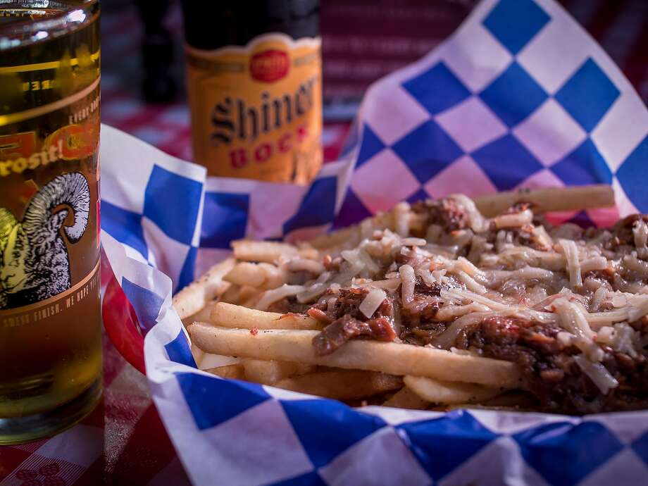 The Hank fries at Overland Country Bar and Grill in Oakland. Photo: John Storey, Special To The Chronicle