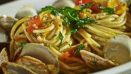 Spaghetti Alle Cetarese at Amalfi