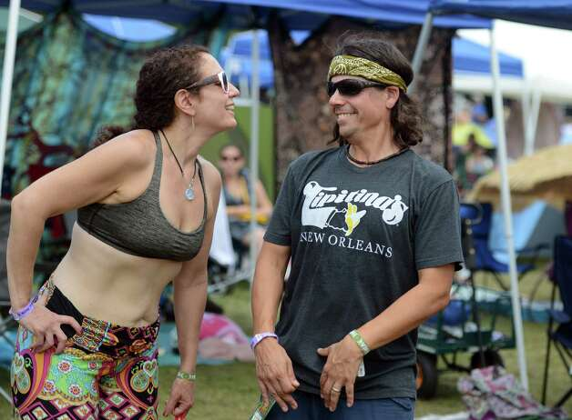 Scenes via day 3 of the 20th annual Gathering in the Vibes songs festival Saturday, Aug. 1, 2015 with Seaside Park inside Bridgeport, Conn. 1, 2015 in Seaside Park in Bridgeport, Conn. Photo: Autumn Driscoll / Hearst Connecticut Media / Connecticut Submit freelance