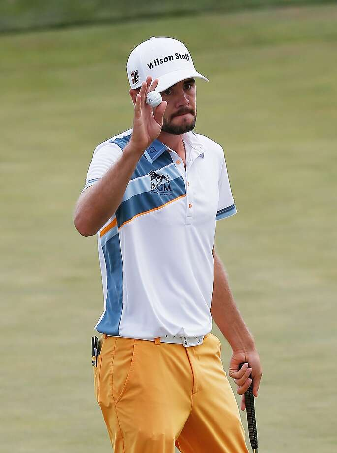 Troy Merritt had 11 birdies in shooting a 61. Photo: Rob Carr, Getty Images