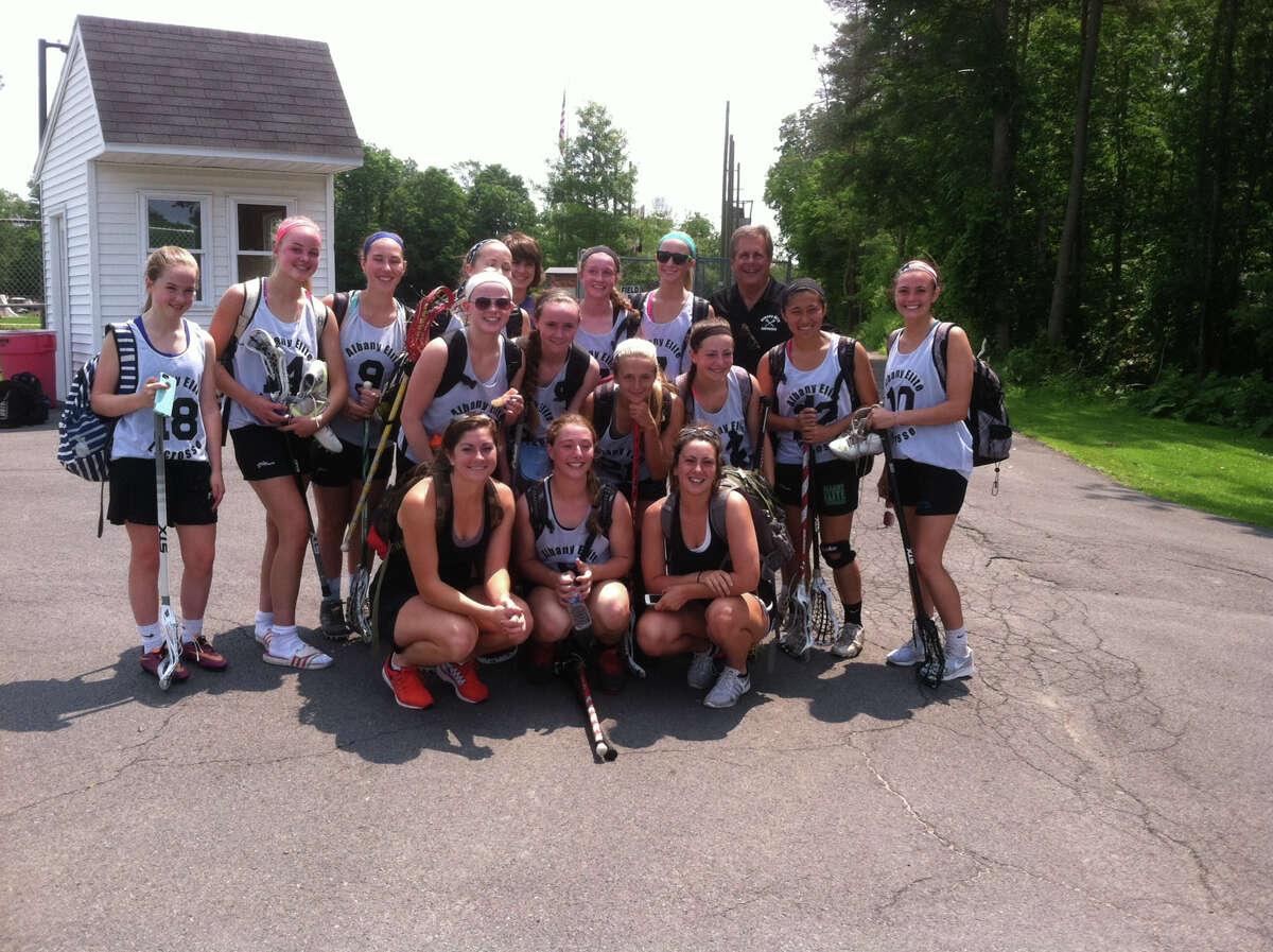 Albany Elite Varsity girls lacrosse