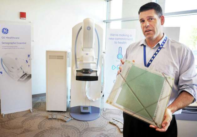 General Manager for Global X-ray Detectors Marc Schaepkens at GE Healthcare Friday July 31, 2015 in Troy, NY. (John Carl D'Annibale / Times Union) Photo: John Carl D'Annibale / 10032850A