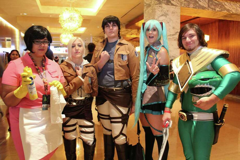 Power Rangers, Sailor Moons, superheroes, steampunks, Ghost in the Shells – you name it and you could find it wandering the Convention Center Saturday during the biggest day of the San Japan convention. Lovers of anime, otaku, video games and cosplay gathered together for this annual event that looked to break 20,000 attendees this year. Photo: By Yvonne Zamora, For MySA.com,