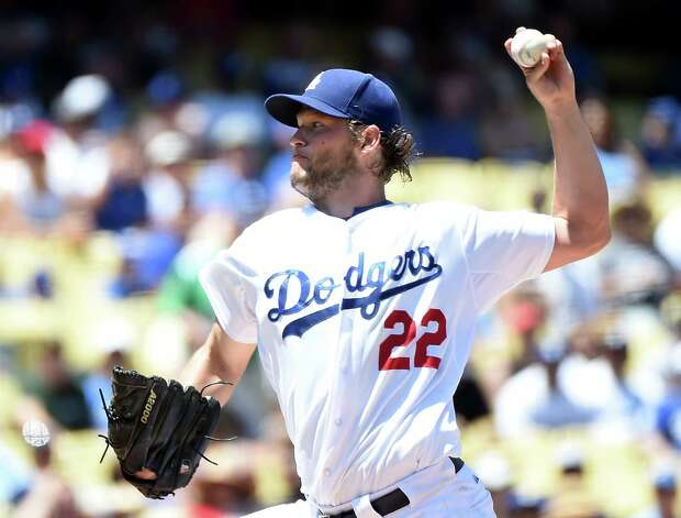 LOS ANGELES, CA - AUGUST 01:  Clayton Kershaw #22 of the Los Angeles Dodgers pitches to the Los Angeles Angels during the second inning at Dodger Stadium on August 1, 2015 in Los Angeles, California.  (Photo by Harry How/Getty Images) ORG XMIT: 538587847 Photo: Harry How / 2015 Getty Images