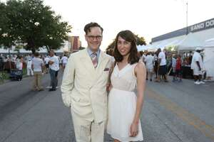 Check out the scenes from White Linen Night in the Heights - Photo
