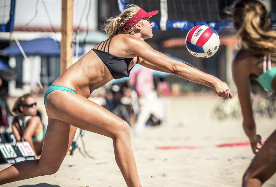 Maja Kaiser, a junior on the Smithson Valley volleyball team, spent the Summer of 2015 in California playing beach volleyball and finished second in prestigious tournament. Photo: Courtesy Photo