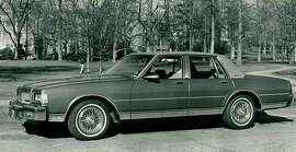 NOV 6 1985, NOV 9 1985; Chevrolet (Auto) Caprice;
