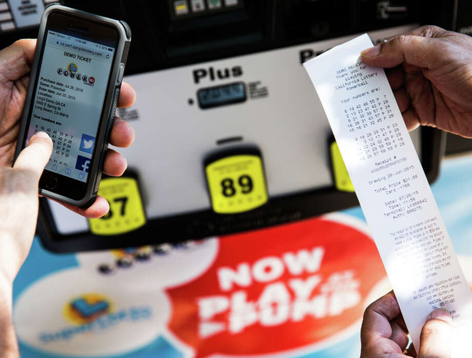 The California Lottery's new Play at the Pump program lets drivers buy up to $20 worth of Quick Pick tickets while paying for gas at the pump with a credit card. Photo: Max Whittaker/Prime / Special To The Chronicle / ONLINE_YES