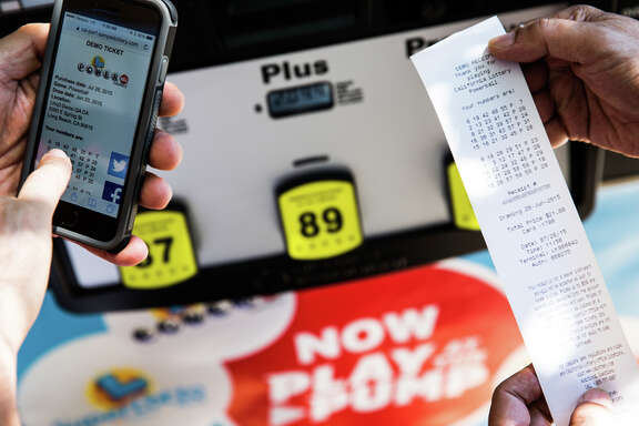 The California Lottery's new Play at the Pump program lets drivers buy up to $20 worth of Quick Pick tickets while paying for gas at the pump with a credit card.
