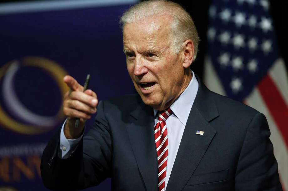 The renewed focus on Vice President Joe Biden comes amid signs of weakness for Hillary Clinton. Photo: Brennan Linsley /Associated Press / AP