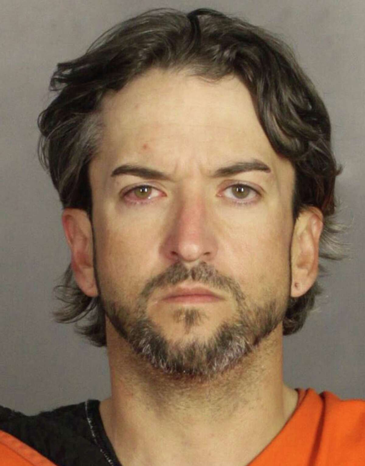 This is a 2014 mug shot from Limestone County of Marcus Pilkington on drug charges. He is now the last Million Dollar Man in Waco biker case, where he is the only biker left who is locked up on $1 million bail pending the outcome of charges against him.
