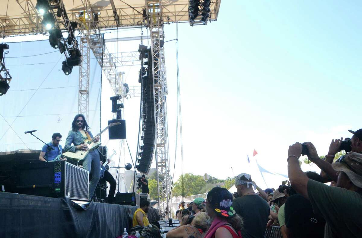 Zappa Plays Zappa performs on the last day of 20th Annual Gathering of the Vibes on Sunday, August 2, 2015.
