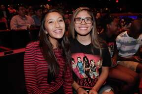 San Antonio fans of pop sensation Fifth Harmony packed into the Tobin Center for the Performing Arts in droves for a night of heart-pounding music and dance.