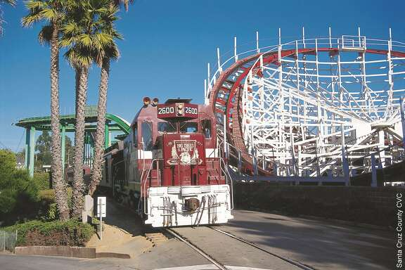 Roaring Camp's Beach Railroad. Photo courtesy of Santa Cruz County Conference & Visitors Council.