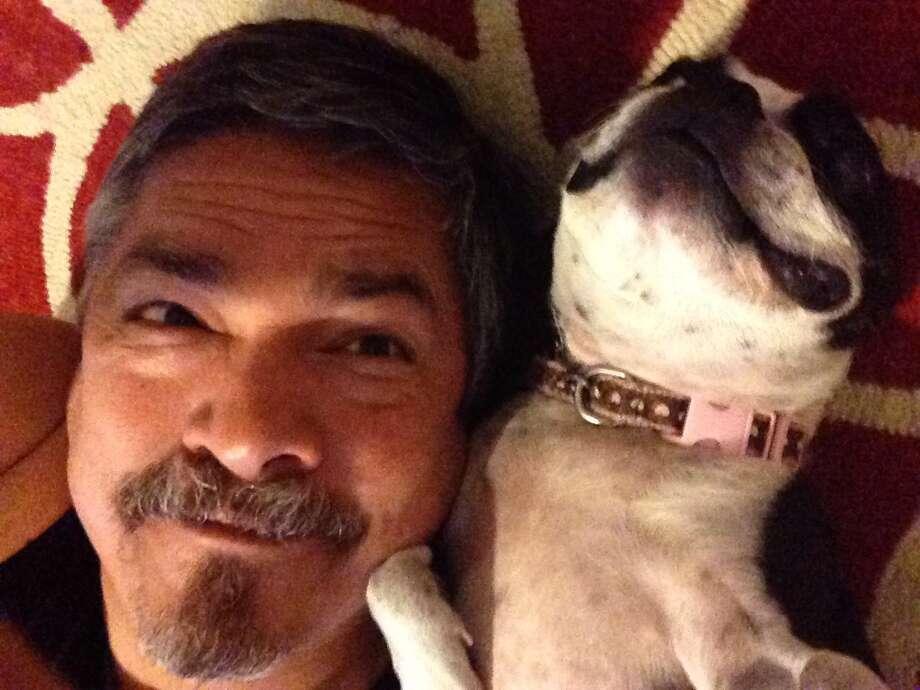 Ruben Trevino says he and his Boston terrier Oreo love to enjoy what life has to offer. Photo: Courtesy Photo