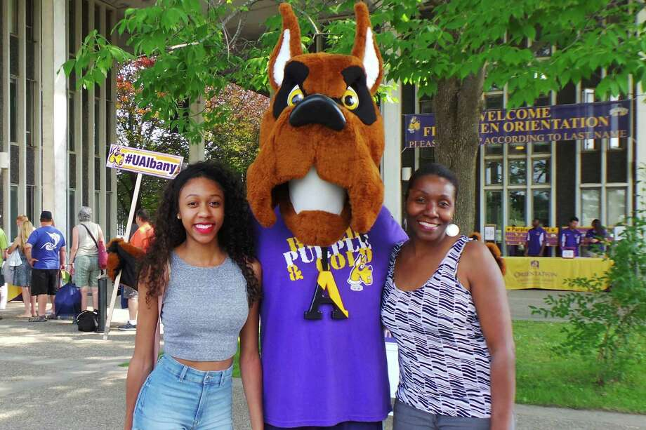 Were you Seen at the summer orientation program at the University at Albany from Monday, June 29 - Friday, July 31, 2015? Photo: Katherine Tare & Jason Agyekum