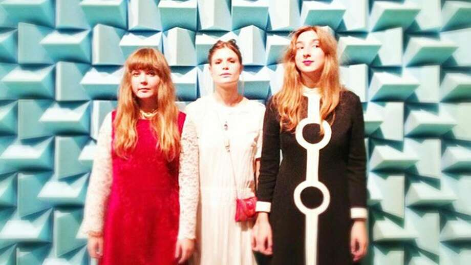 Cissi, Lisa and Rebecka (left to right) of Vulkano can't imagine life, or music without each other in the film, All We Have is Now. Photo: Swedish Film Institute / Rooftop Films / Connecticut Post
