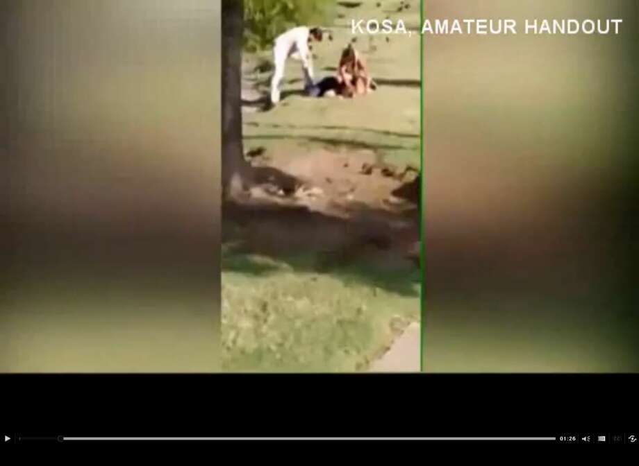 A bystander's video of an alleged exorcism at an Odessa duck pond have some stunned. Photo: Medina, Mariah, Courtesy Photo