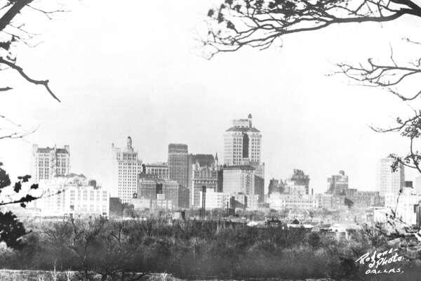 UNITED KINGDOM - JANUARY 01:  Dallas, Texas, seen from Oak Cliff, a Dallas suburb.