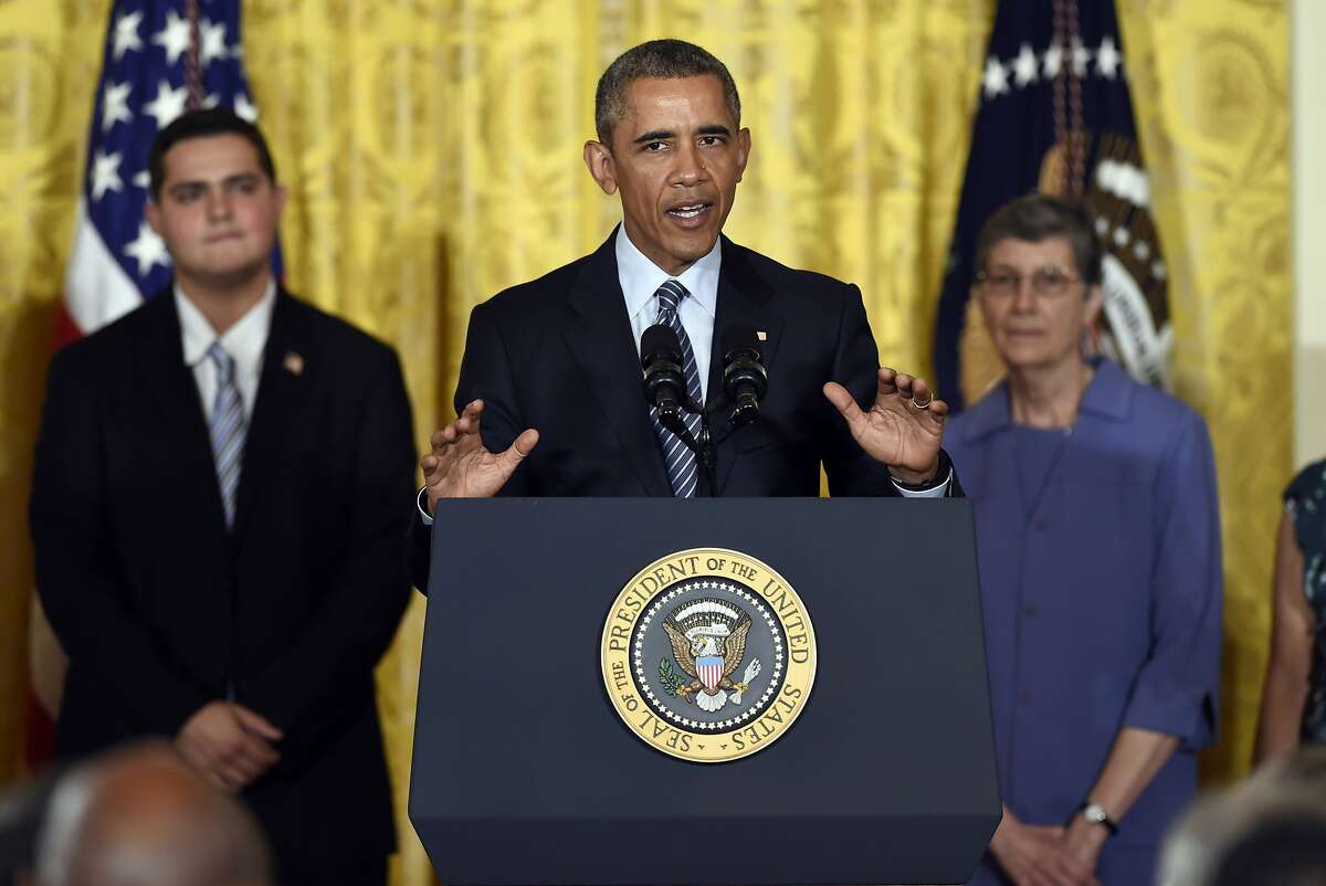 At the White House, President Obama called his Clean Power Plan to reduce emissions a public health imperative.