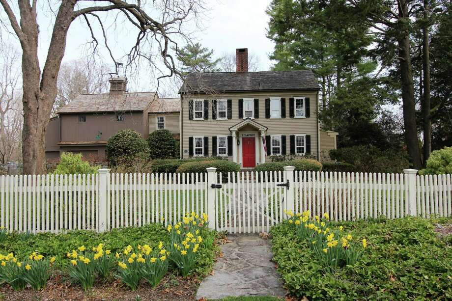 The Matthew Fitch House on Carter Street in Silvermine was built in 1737 and updated in 2000. Photo: Contributed / Contributed Photo / Darien News