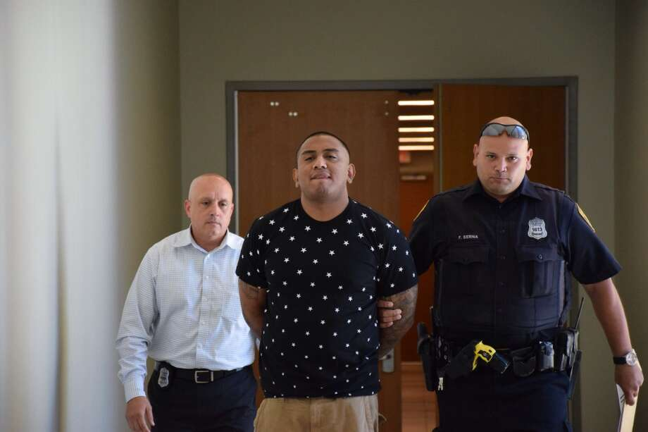 Adrian Salazar, 31, faces a charge of murder for his alleged role in the shooting death of 28-year-old Silvester Reyes, according to police. Photo: Mark D. Wilson/San Antonio Express-News