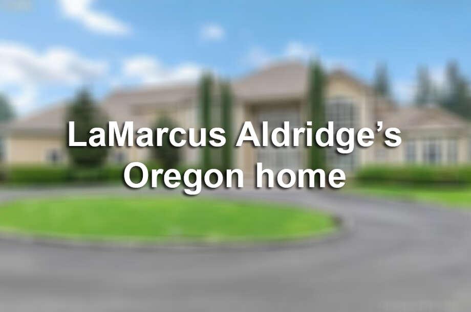 LaMarcus Aldridge's former Oregon home.
