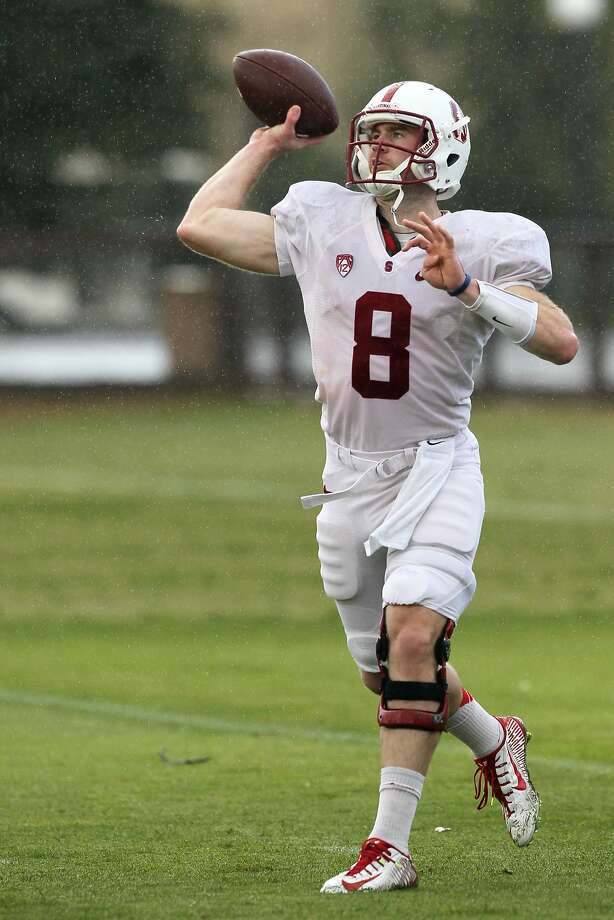 Quarterback Kevin Hogan enters his senior season after having dealt with his father's death late last year. Photo: Santiago Mejia, The Chronicle
