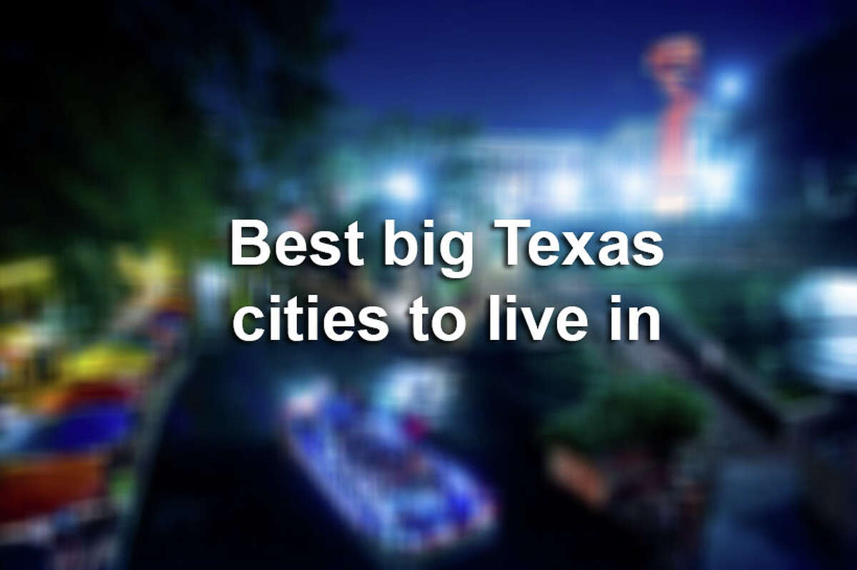 Check out the eight best big cities in Texas, according to WalletHub.