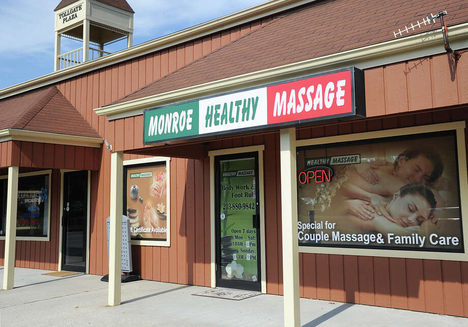 Monroe Healthy Massage in the Tollgate Plaza at 838 Main Street in Monroe, Conn. on Monday, August 3, 2015. Photo: Brian A. Pounds / Hearst Connecticut Media / Connecticut Post