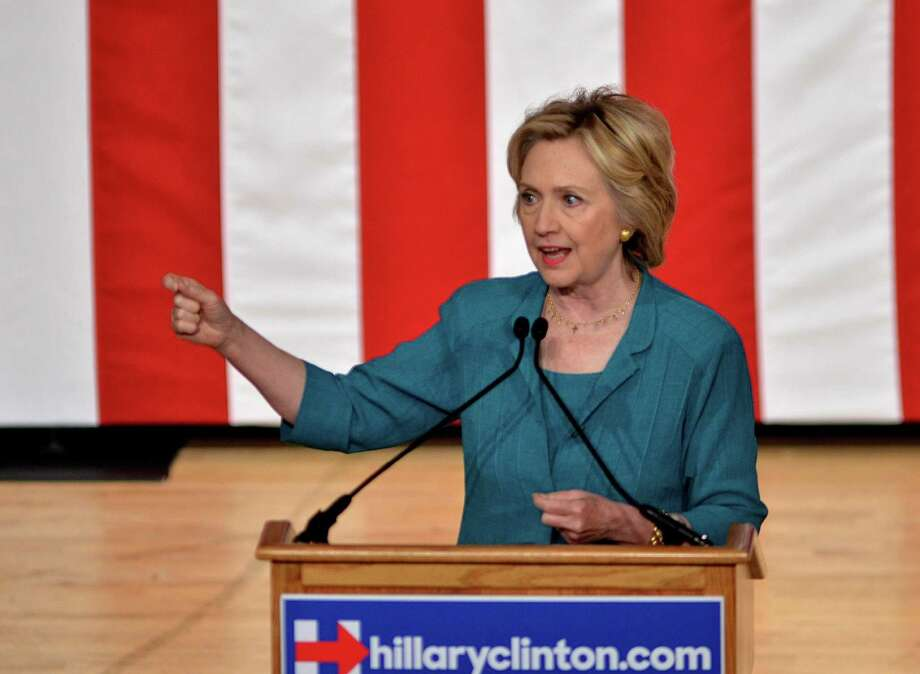 Democratic presidential candidate Hillary Rodham Clinton is suffering from a lack of voter trust, and it is a predicament that she has earned through her behavior. Photo: Gaston De Cardenas /Associated Press / FR170063 AP