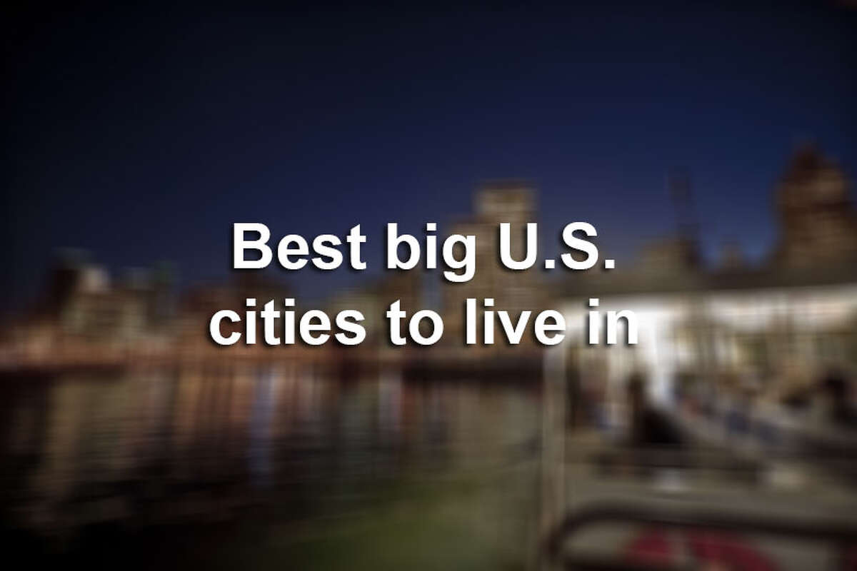 Here are the Top 10 best big cities to live in across the U.S.