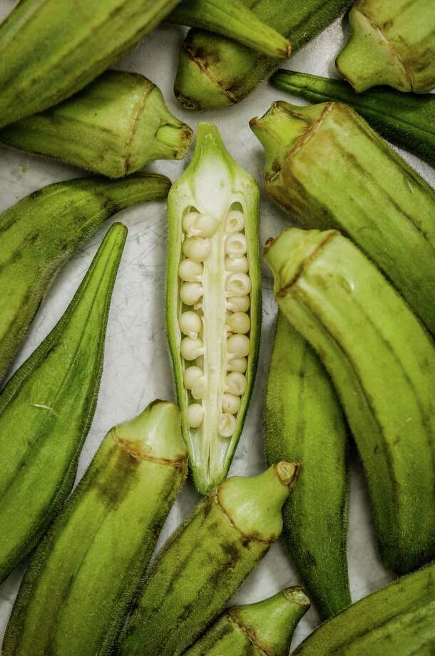 Southern, Indian, African cuisines and more use okra in popular dishes. Photo: Russell Yip, Staff / ONLINE_YES