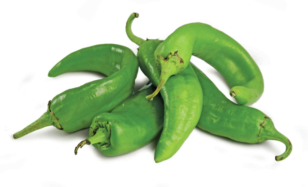 Green chiles from Hatch, N.M., are sold every year at Central Market during is annual Hatch Chile Festival.