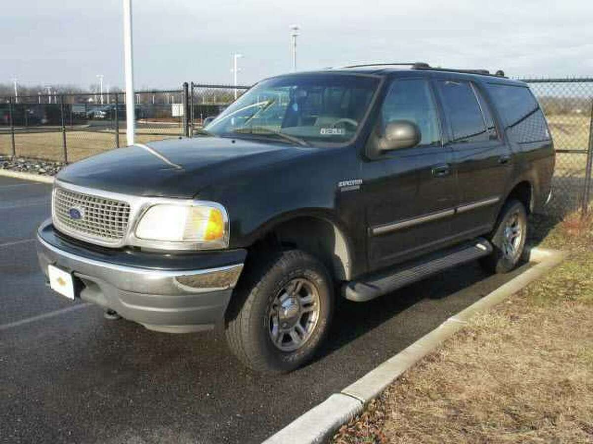 The Bexar County Sheriff's Office posted this photo on Facebook Monday of a Ford Expedition. Officials say a vehicle similar to this one is sought in the hit-and-run death of Vanessa Puente early Sunday morning.