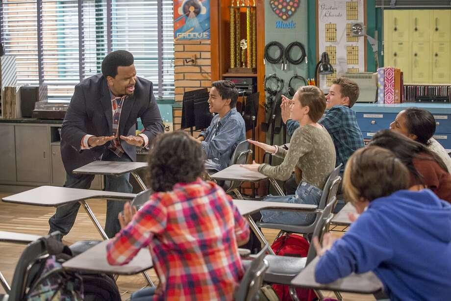 "Craig Robinson stars as substitute music teacher Craig Robinson, who gets a temporary job in the same school where his high school crush works, in ""Mr. Robinson."" Photo: Nbc"