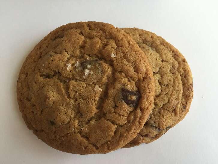 Chocolate chip sea salt cookies from Doughbies