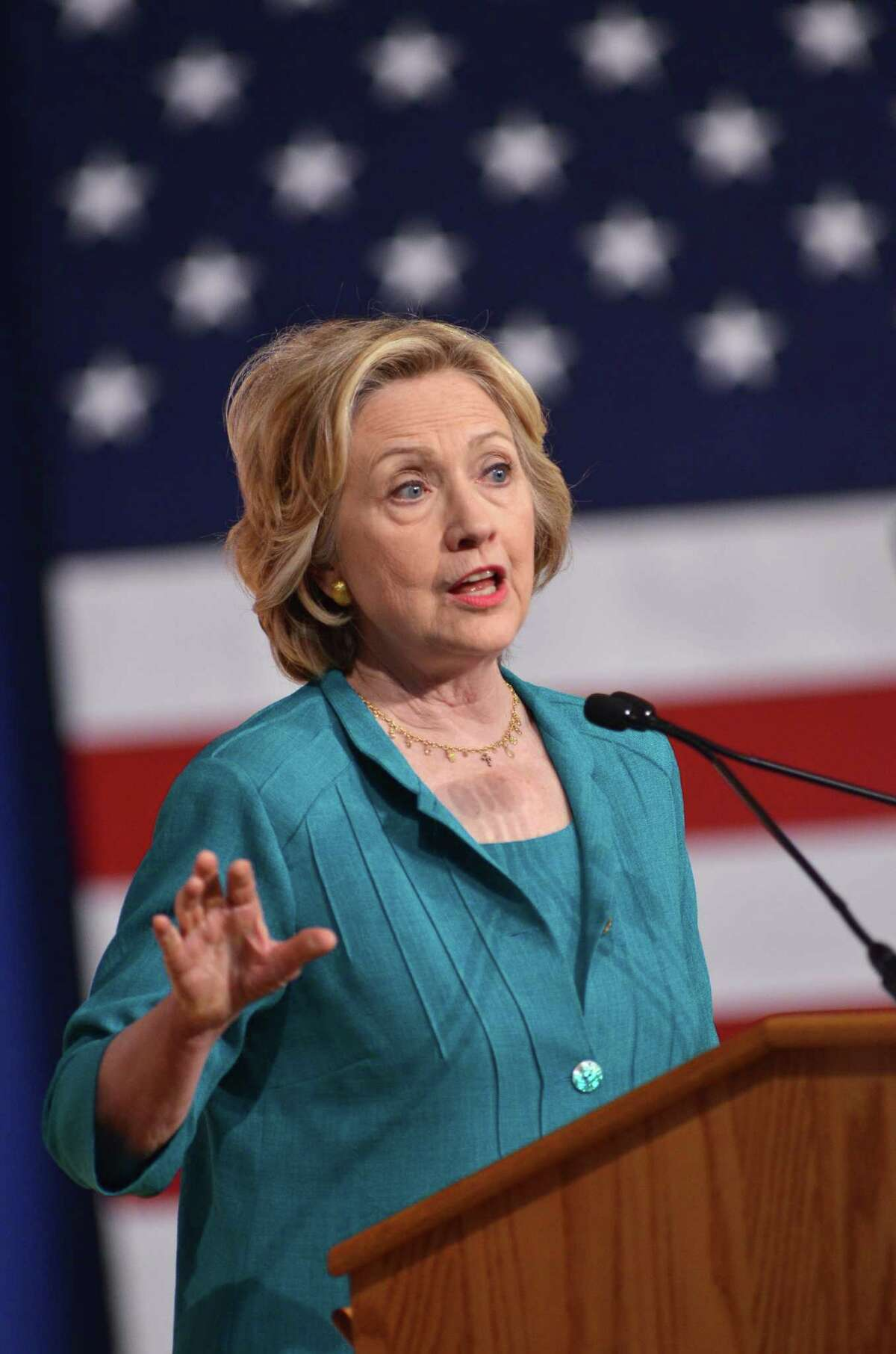 Democratic presidential candidate Hillary Clinton will meet with people Friday in McAllen.