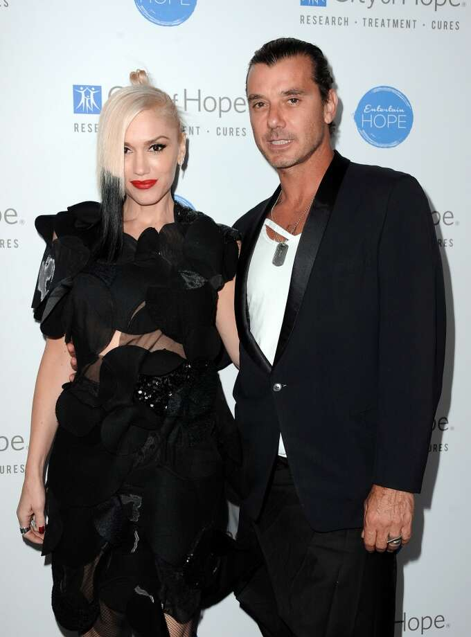 Musicians Gwen Stefani and Gavin Rossdale split in 2015.  (Photo by Angela Weiss/Getty Images for City Of Hope) Photo: Angela Weiss