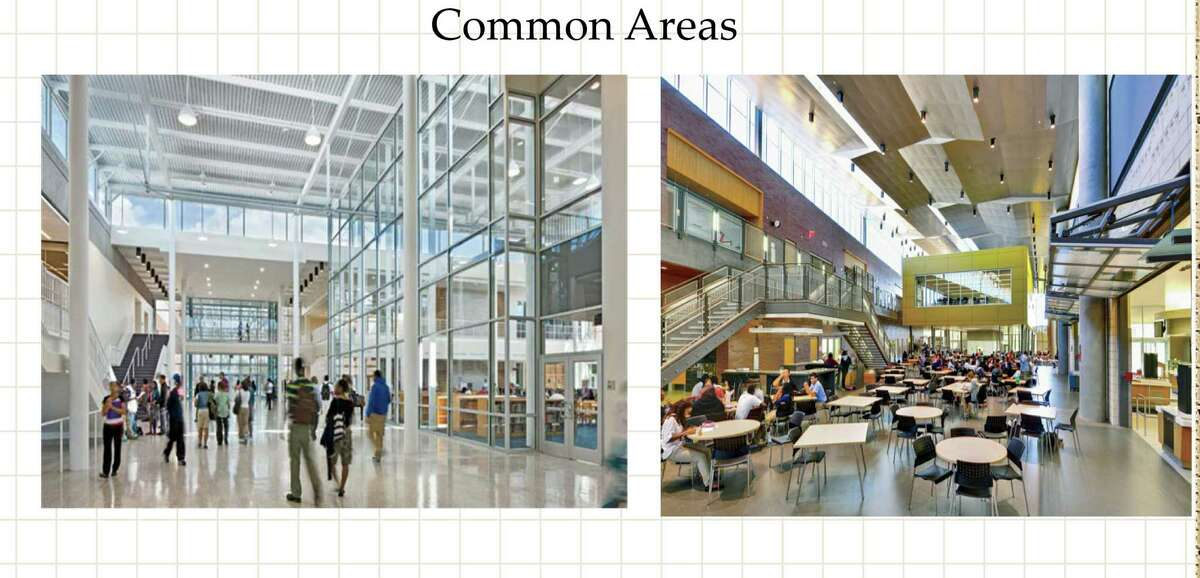 Rendering showing proposed updates to Albany High School. (Albany Public Schools) ORG XMIT: MER2015052215411891