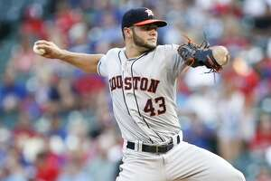 McCullers roughed up as Astros drop series opener to Rangers - Photo