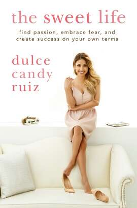 The cover of Dulce Candy Ruiz's new book.