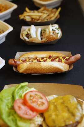 Let's start with something basic: A standard hot dog will set you back $6.25.