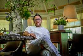 Chef Christopher Kostow at Meadowood restaurant in St. Helena.