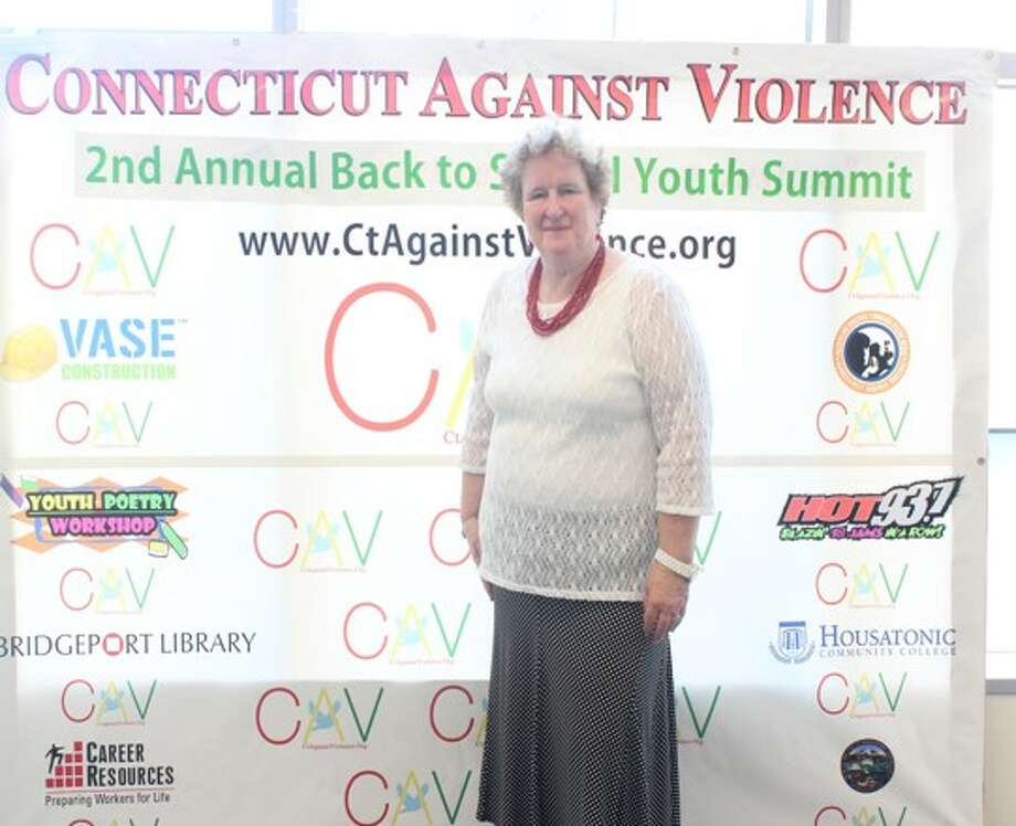 Fran Rabinowitz at 2nd Annual Non-violence summit in 2014 Photo: Contributed / Contributed / Connecticut Post